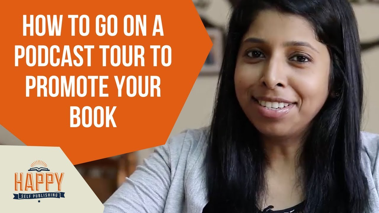 how to go on a podcast tour to promote your book